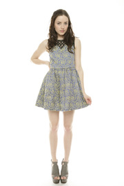Gracia Pearl Floral Dress - Front full body