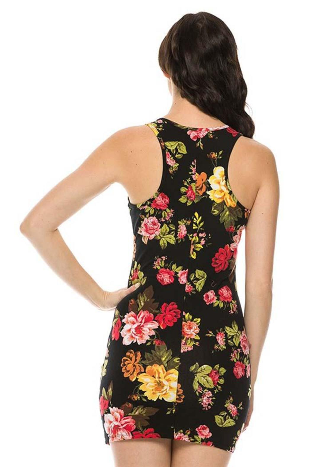 ambiance apparel floral bodycon dress from oregon by my campus closet shoptiques. Black Bedroom Furniture Sets. Home Design Ideas