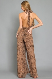 AAKAA Animal Print Jumpsuit - Side cropped