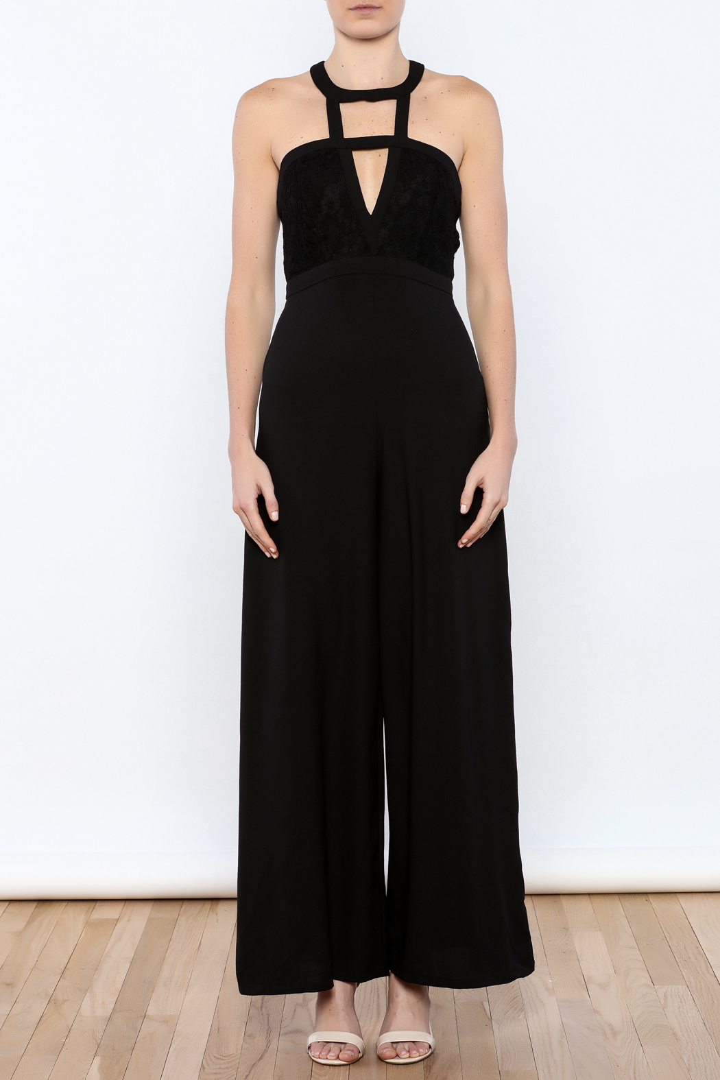 AAKAA Black Formal Jumpsuit from Florida by Apricot Lane ...