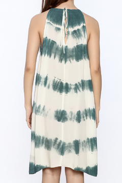 AAKAA Blue Sheer Dyed Cover Up - Alternate List Image