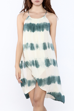 AAKAA Blue Sheer Dyed Cover Up - Product List Image