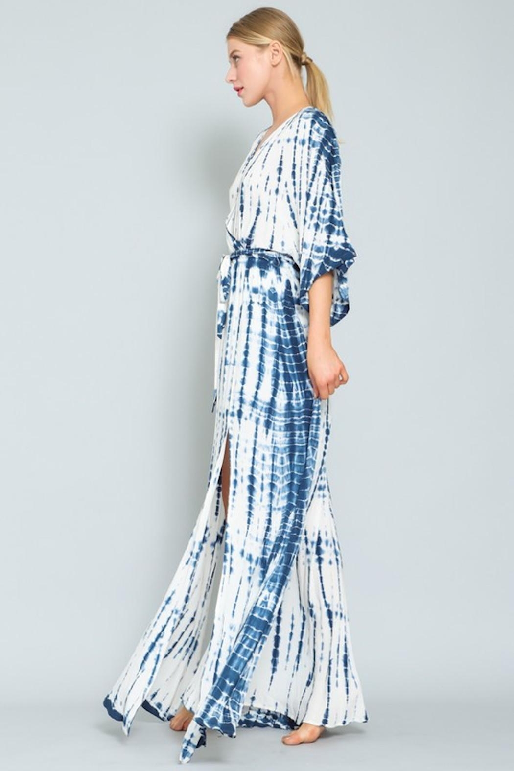 AAKAA Blue Wave Maxi - Side Cropped Image