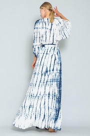 AAKAA Blue Wave Maxi - Back cropped