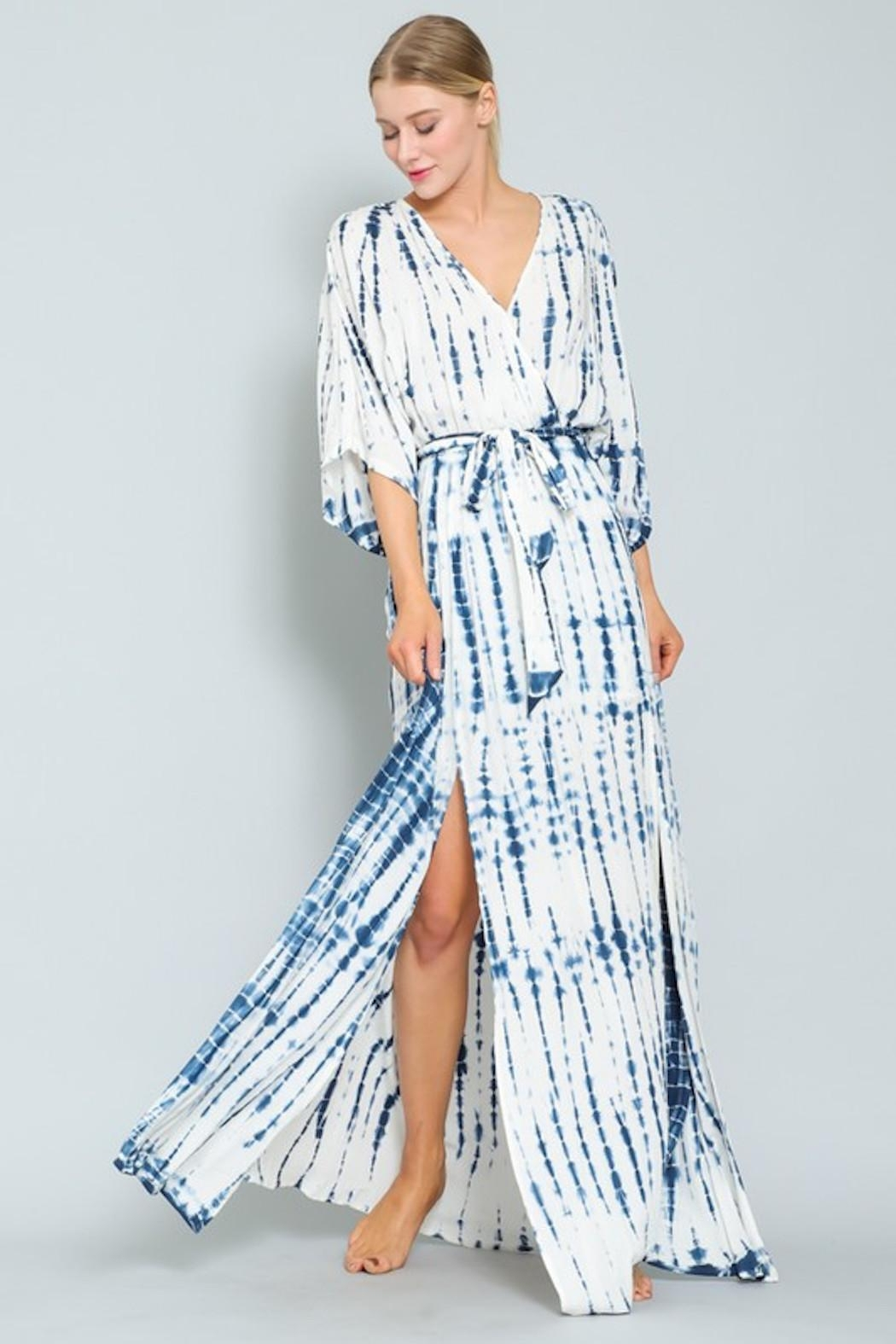 AAKAA Blue Wave Maxi - Front Full Image