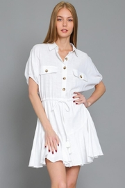 AAKAA Button Down Dress - Front cropped