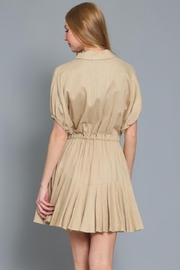 AAKAA Button Down Dress - Front full body