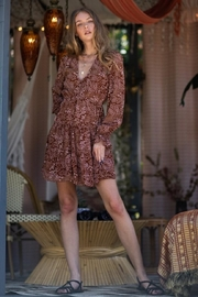 AAKAA Button-Down Floral Dress - Product Mini Image