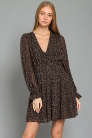 AAKAA Button-Down Tiered Mini - Front full body