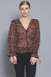 AAKAA Button Floral Blouse - Other