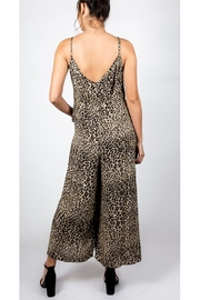 AAKAA Cheetah Chic Jumpsuit - Front full body