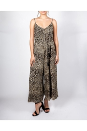 AAKAA Cheetah Chic Jumpsuit - Front cropped