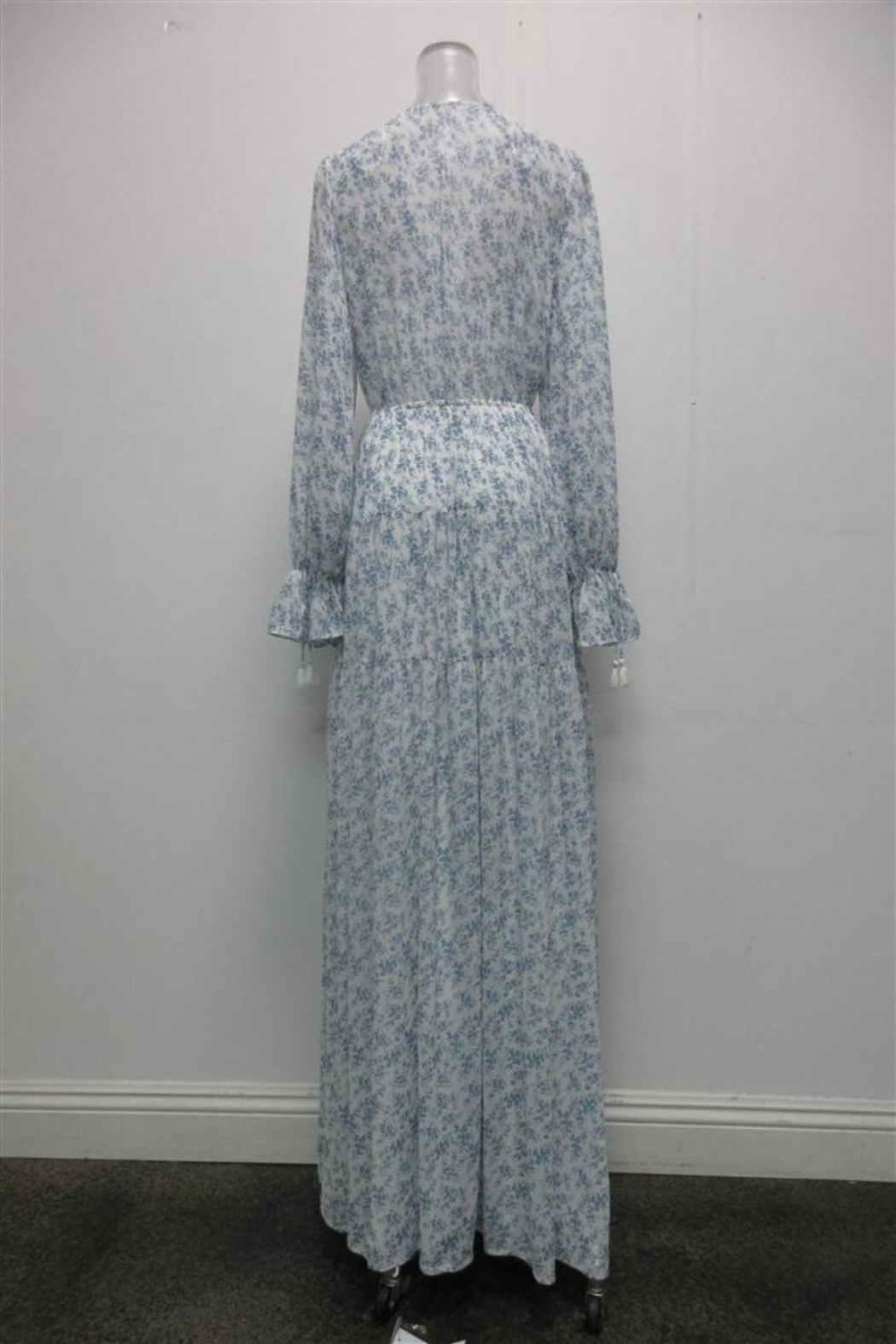 AAKAA Floral Button-Down Maxi - Front Full Image