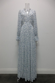AAKAA Floral Button-Down Maxi - Product Mini Image