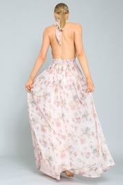 AAKAA Floral Halter Maxi - Side cropped