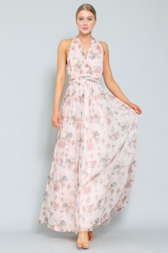 AAKAA Floral Halter Maxi - Product List Image