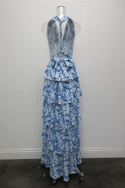 AAKAA Floral Halter Maxi - Front full body