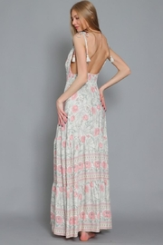 AAKAA Floral Maxi Dress - Side cropped