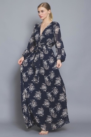 AAKAA Floral Maxi Dress - Front full body