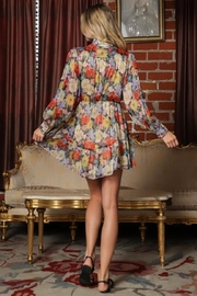 AAKAA Floral Mini Dress - Side cropped