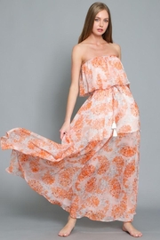 AAKAA Floral Print Maxi Dress - Product Mini Image