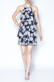 AAKAA Floral Spaghetti Strap Dress - Side cropped