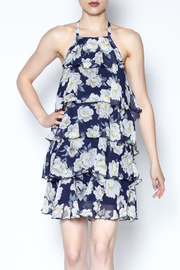 AAKAA Floral Spaghetti Strap Dress - Product Mini Image