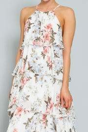 AAKAA Floral Tiered Maxi - Side cropped