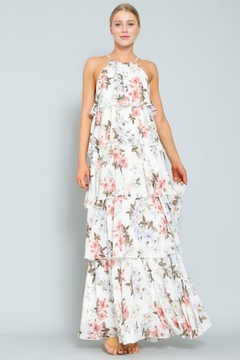 AAKAA Floral Tiered Maxi - Product List Image