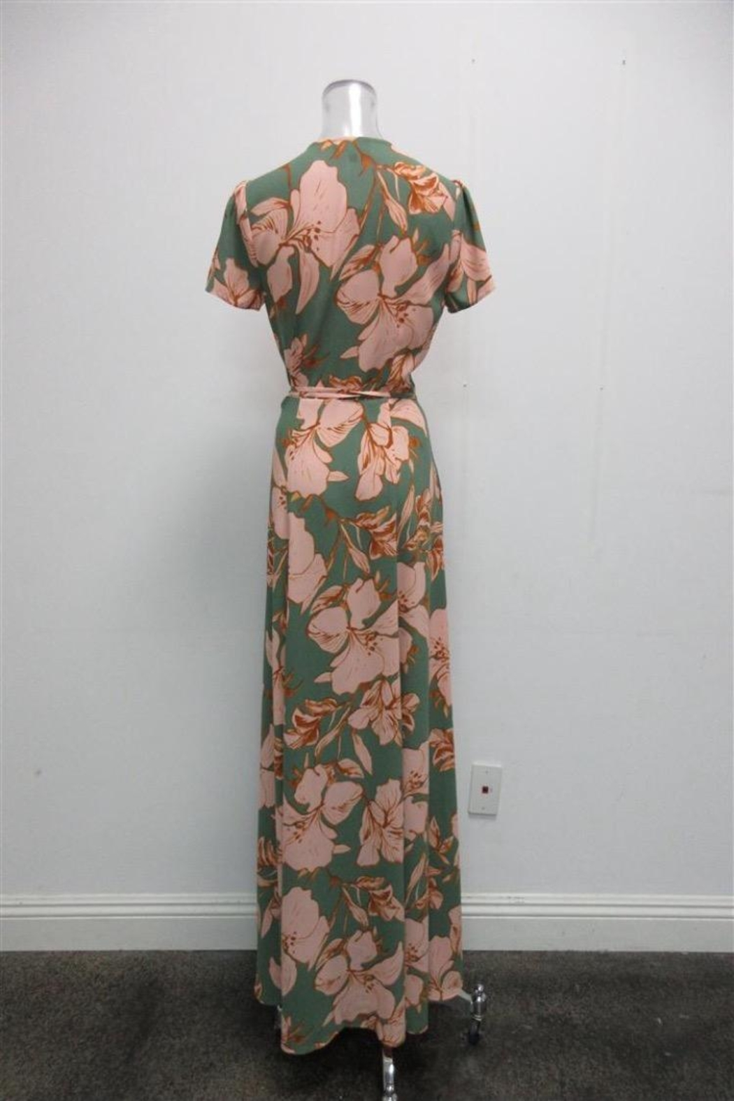 AAKAA Floral Wrap Maxi - Front Full Image