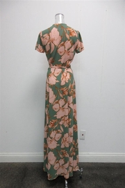 AAKAA Floral Wrap Maxi - Front full body
