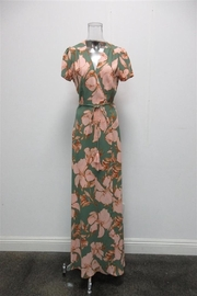 AAKAA Floral Wrap Maxi - Front cropped