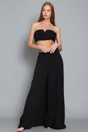 AAKAA Flowy Maxi Skirt - Front cropped