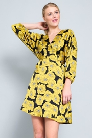 AAKAA Kimono Belted Dress - Product Mini Image
