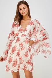 AAKAA Kimono Sleeve Dress - Product Mini Image