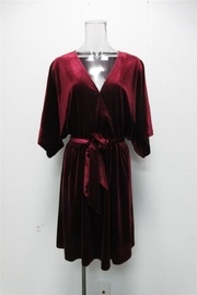 AAKAA Kimono-Sleeve Velvet Dress - Product Mini Image