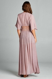 AAKAA Long Coverup Dress - Side cropped