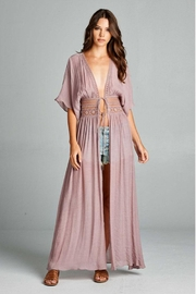 AAKAA Long Coverup Dress - Front full body