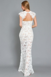 AAKAA Mermaid Lace Maxi - Side cropped