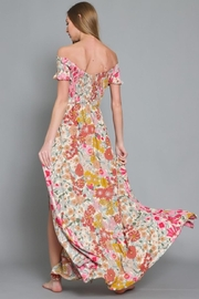 AAKAA Off-Shoulder Floral Maxi - Side cropped