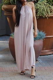 AAKAA Pink Maxi Dress - Front cropped