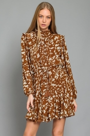 AAKAA Printed Button-Down Dress - Front cropped