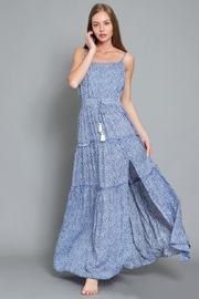AAKAA Printed Maxi Dress - Front cropped