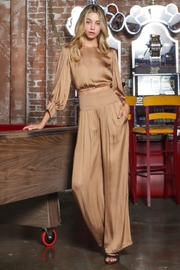 AAKAA Satin Pants Set - Front cropped