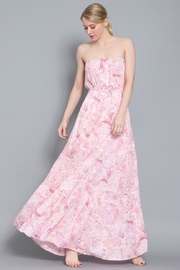 AAKAA Strapless Floral Maxi - Product Mini Image