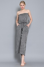 AAKAA Summertime Striped Jumpsuit - Side cropped