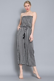 AAKAA Summertime Striped Jumpsuit - Other