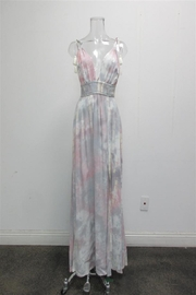 AAKAA Tie-Dye Maxi Dress - Front cropped