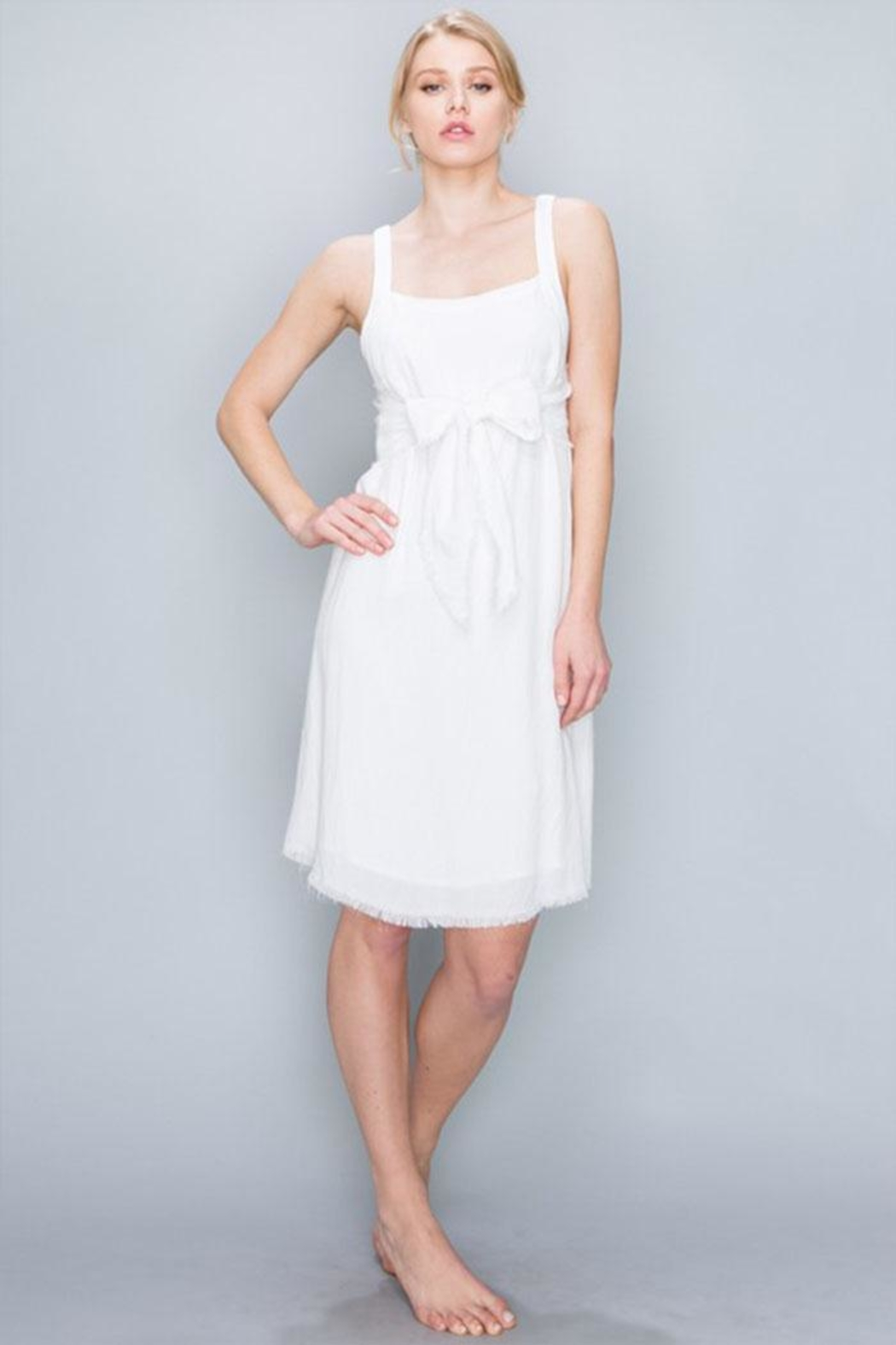 AAKAA Tie Front Dress - Main Image