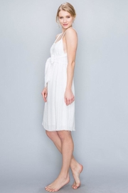 AAKAA Tie Front Dress - Front full body